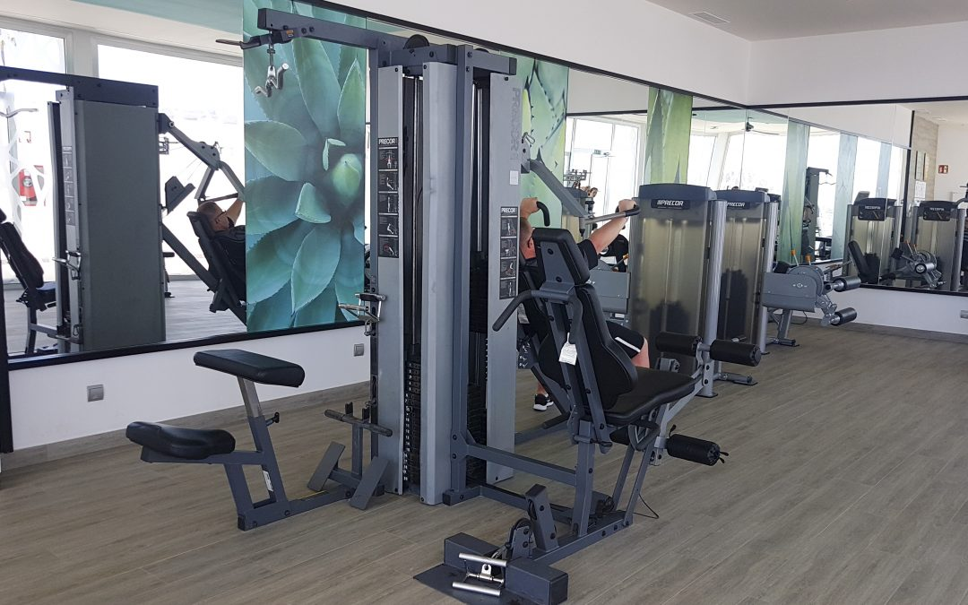 Apertura de nuevo gimnasio del Club Hotel Riu Vistamar Amadores en Gran Canaria con máquinas de la Marca Precor