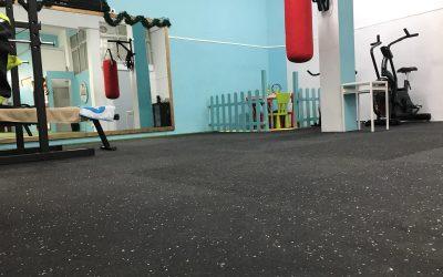 Pavimento deportivo ECOFLEX 10MM de Paviflex Gym Flloring en Las Palmas
