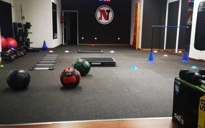 Nestraining Center en Las Palmas con nuestro pavimento Fitness Pro Eco de PaviFLEX Gym Flooring.