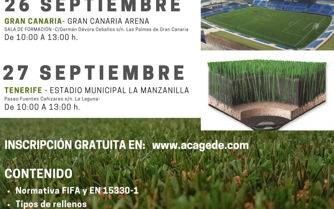 Jornada formativa «Tendencias en césped artificial para campos de fútbol»