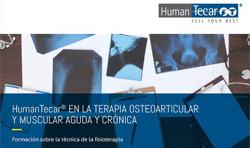 """Curso """" En la terapia osteoarticular y muscular aguda y crónica"""" de Human Tecar."""